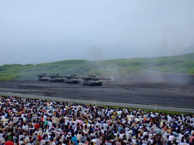 富士総合火力演習まであと4日!