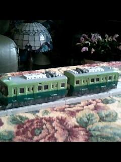 京阪電車ってガチャピンっぽいよ