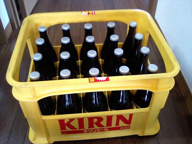 密造ビール届く
