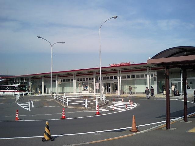 羽田にいます